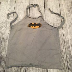 Kids Batman Gray Apron